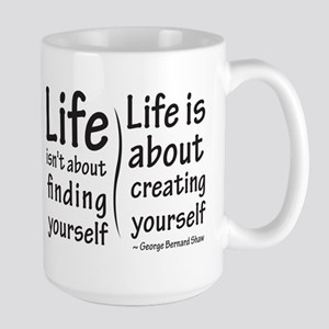 Life Isn't About Large Mug